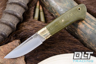 Brokk Green Linen Micarta