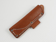 Bushcraft D Sheath - Brown Left