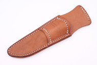 Gunny Pouch Sheath - Brown Left
