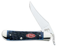 Case Russlock Navy Blue Bone Pocket Knife