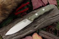 Canadian Special Green Canvas Micarta - Matte