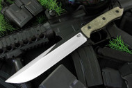 STS-8 - Black Blade - Green Canvas Micarta