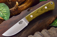 Woodland Green Canvas Micarta
