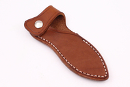 Bravo 1 Sabot Style Leather Sheath - Brown