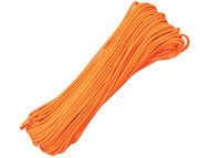 Blaze Orange 550 Paracord - 100 Feet