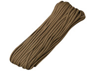 Brown 550 Paracord - 100 Feet
