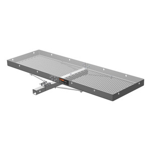 CURT Tray-Style Cargo Carrier #18100 Dimensions: 60 IN x 20 IN x 2.75 IN