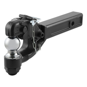 CURT Receiver-Mount Ball & Pintle Combination #48007