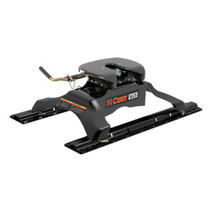 CURT Q25 5th Wheel Hitch with Rails #16266