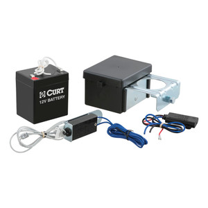 CURT Soft-Trac 2 Breakaway Kit with Charger #52028