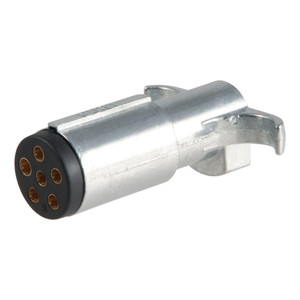 CURT 6-Way Round Connector Plug #58081