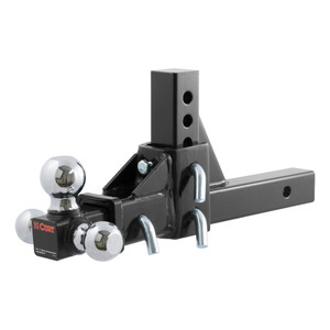 CURT Adjustable Tri-Ball Mount #45799