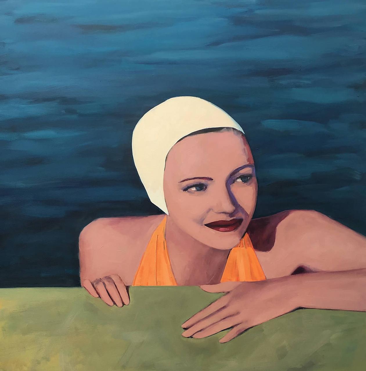 Poolside Swimmer