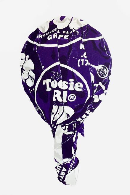 Tootsie on a Stick (Large Grape)