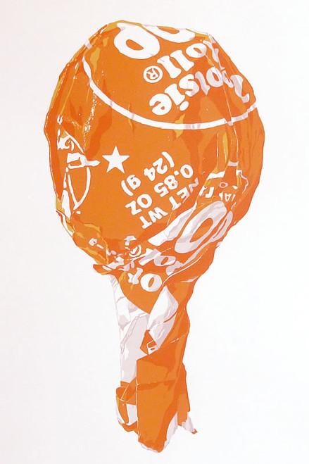 Tootsie on a Stick (Large Orange)