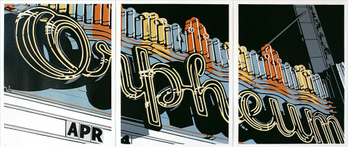 The Orpheum (Triptych)