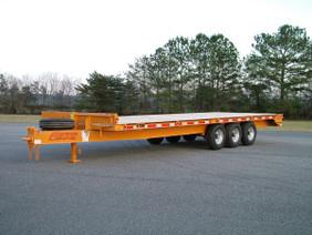 9-Ton Tri-Axle Deckover Flatbed CP0920FE