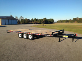 10-Ton Tri-Axle Deckover Partial Tilt CP1025TE