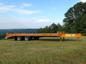 15-Ton Heavy Duty Dual-Tandem Dovetail *Air Brakes* DP1525DA