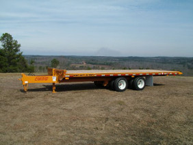 24-Ton Heavy Duty Dual-Tandem Tilt *Air Brakes* DP2425TA