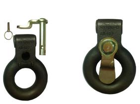 20 ton 3 hole vertical mount Pintle Ring