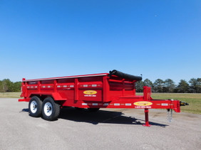 7 Ton Hydraulic Dump Trailer LB0714HE