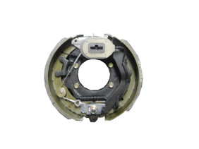 Left Hand 10K Rockwell Backing Plate with Brake Lining Assy (12 1/4 x 3 1/2)