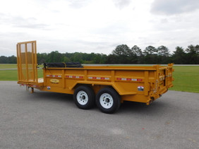7 Ton  Dump Trailer with Partial LB0716HE