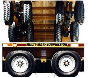 28,000 lb Super-Max Trailer Suspension
