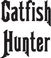 Catfish Hunter Decal, FSN1-17 Window Sticker