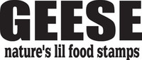 Geese Natures Lil Food Stamps Decal, HNT5-134 Window Sticker