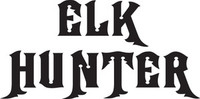Elk Hunter Decal, HNT2-213 Sticker