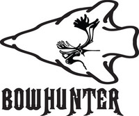 Bowhunter Moose Decal HTN6 Big Game Hunting Stickers