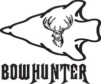 Bowhunter Deer Decal HNT1-217 Truck Hunting Stickers