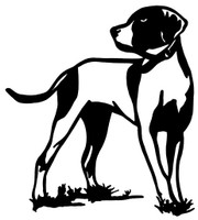Bird Dog Decals and Window Stickers, High Quality Vinyl Graphics