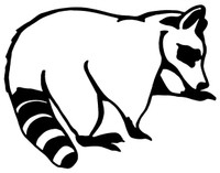 Coon Decals and Coon Stickers. Personalize any of our hunting decals with your choice of text, color and size.These are perfect for trucks, cars, windows, gun cabinets, 4-wheelers, boats, mailboxes or any clean semi-smooth surface. Show your passion for the outdoors. Free Shipping on all orders over $25.00