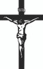 Jesus On Cross Decal and Window Stickers