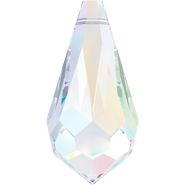 Swarovski Pendant 6000 - 13x6.5mm, Crystal Aurore Boreale (001 AB), 6pcs