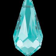 Swarovski Pendant 6000 - 13x6.5mm, Light Turquoise (263), 6pcs