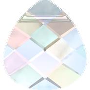 Swarovski Pendant 6012 - 15.4x14mm, Crystal Aurore Boreale (001 AB), 2pcs