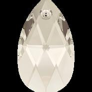 Swarovski 6106 - 16mm, Crystal Silver Shade (001 SSHA), 2pcs