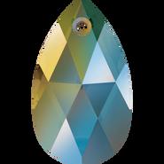Swarovski Pendant 6106 - 22mm, Crystal Iridescent Green (001 IRIG), 2pcs