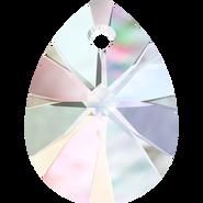Swarovski Pendant 6128 - 12mm, Crystal Aurore Boreale (001 AB), 4pcs