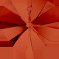 Swarovski Pendant 6228 - 10X10mm, Crystal Red Magma (001 REDM), 6pcs
