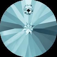 Swarovski Pendant 6428 - 8mm, Aquamarine (202), 12pcs