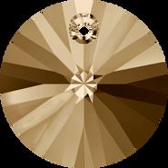 Swarovski Pendant 6428 - 8mm, Crystal Golden Shadow (001 GSHA), 12pcs