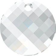Swarovski Pendant 6621 - 18mm, Crystal (001), 2pcs