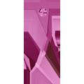 Swarovski Pendant 6690 - 23mm, Fuchsia (502), 2pcs
