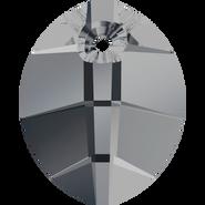 Swarovski Pendant 6734 - 14mm, Crystal Silver Night (001 SINI), 2pcs