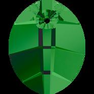 Swarovski Pendant 6734 - 14mm, Fern Green (291), 2pcs
